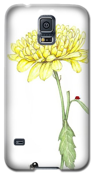 Yellow Fun Galaxy S5 Case by Heidi Kriel