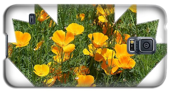 Galaxy S5 Case featuring the photograph Yellow Garden Flowers by Jeanette Oberholtzer