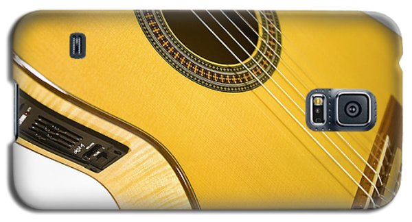 Yellow Guitar Galaxy S5 Case