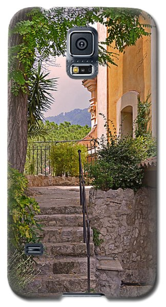 Yellow House In Eze France Galaxy S5 Case