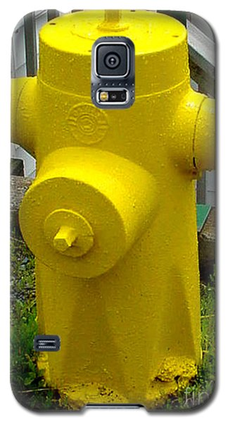 Yellow Hydrant Galaxy S5 Case