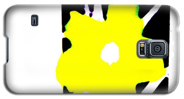 Yellow Jack W Logo Galaxy S5 Case