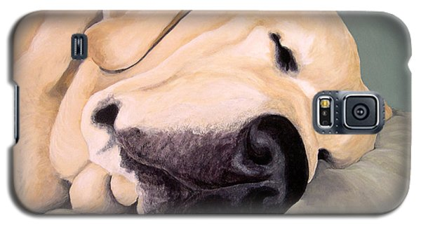 Yellow Lab - A Head Pillow Is Nice Galaxy S5 Case