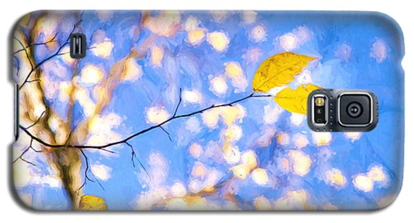 Yellow Leaves Of Fall Galaxy S5 Case