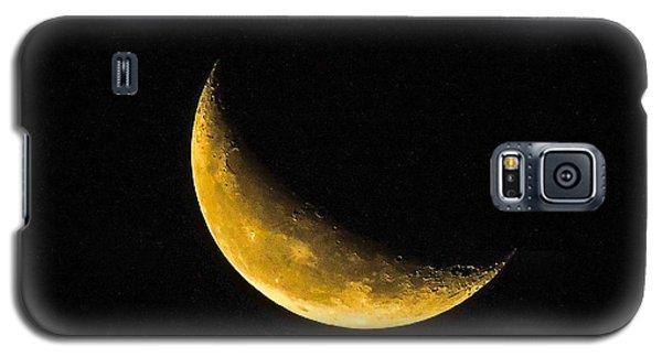 Yellow Moon Galaxy S5 Case