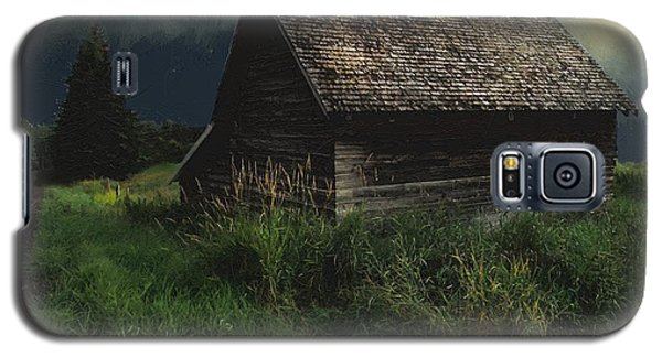 Yellow Moon On The Rise Galaxy S5 Case