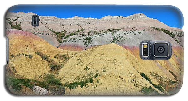 Yellow Mounds Badlands National Park Galaxy S5 Case