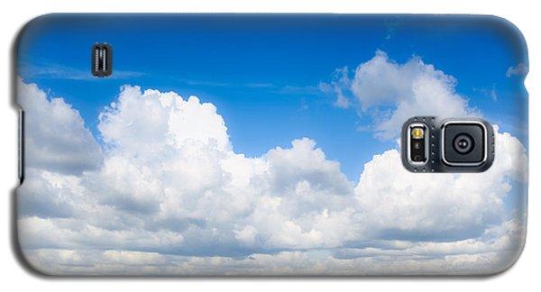 Yellow Mustard Fields Under A Deep Blue Sky Galaxy S5 Case