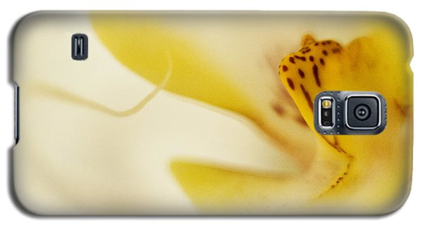 Galaxy S5 Case featuring the photograph Yellow Orchid by Bradley R Youngberg