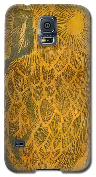 Yellow Owl Galaxy S5 Case
