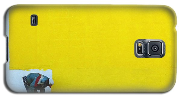 Yellow Paint Galaxy S5 Case