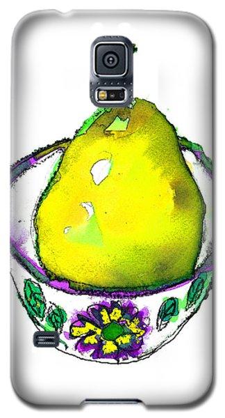 Yellow Pear Galaxy S5 Case