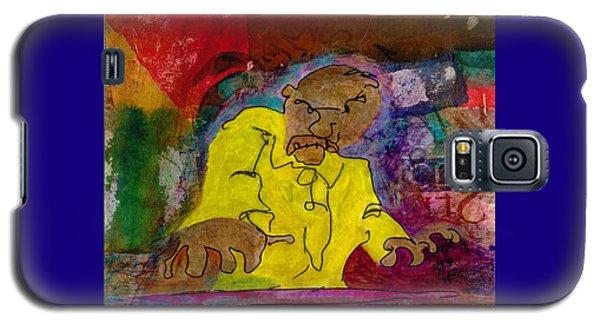 Yellow Piano Man Galaxy S5 Case