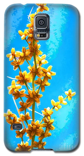 Yellow Plant Galaxy S5 Case
