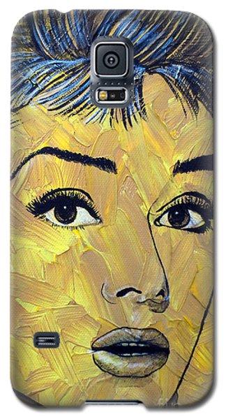 Yellow Pop Audrey Galaxy S5 Case