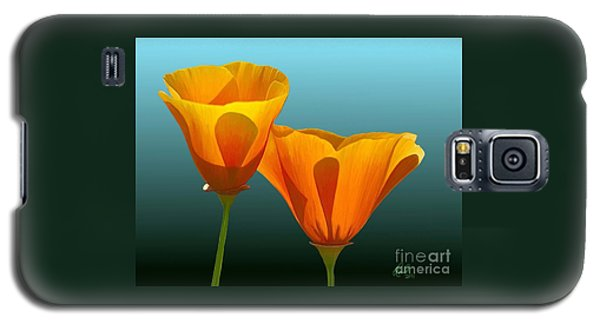 Yellow Poppies Galaxy S5 Case