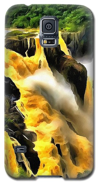 Yellow River Galaxy S5 Case