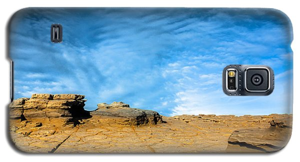 Galaxy S5 Case featuring the photograph Yellow Rock by Edgar Laureano