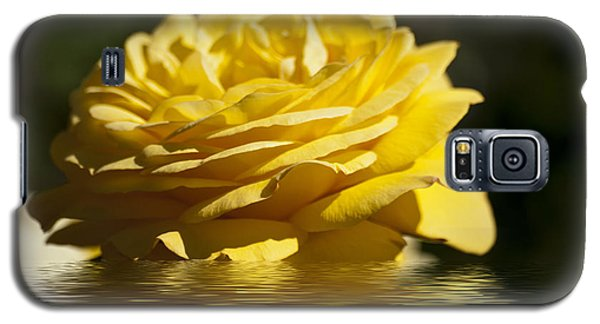 Yellow Rose Flood Galaxy S5 Case
