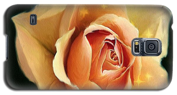 Yellow Rose Highlighted Galaxy S5 Case