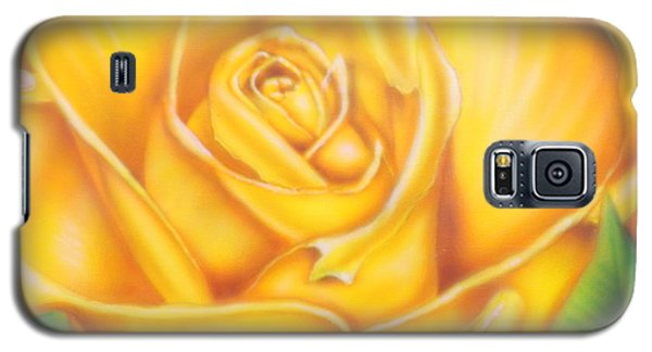 Yellow Rose Of Texas Galaxy S5 Case by Darren Robinson