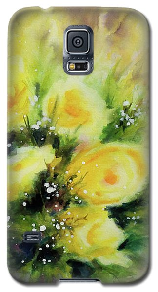 Yellow Roses Galaxy S5 Case by Kathy Braud
