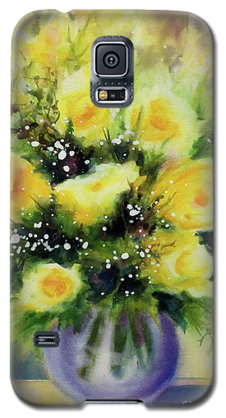 Yellow Roses Galaxy S5 Case