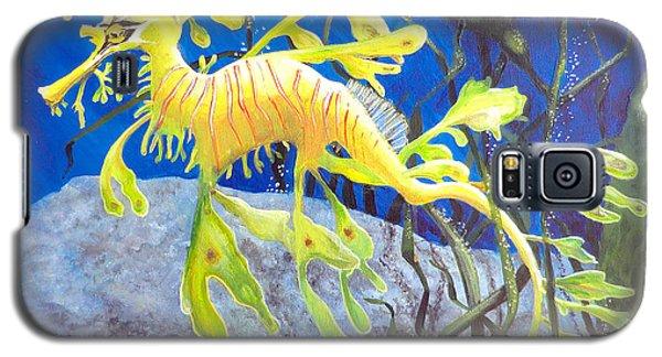 Yellow Seadragon Galaxy S5 Case