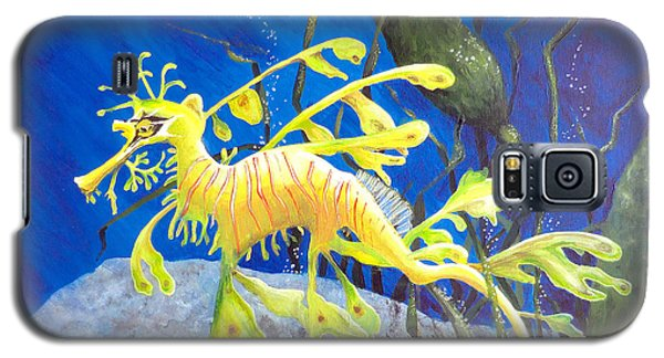 Yellow Seadragon Galaxy S5 Case