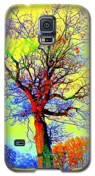 Galaxy S5 Case featuring the photograph Yellow Sky by Jodie Marie Anne Richardson Traugott          aka jm-ART