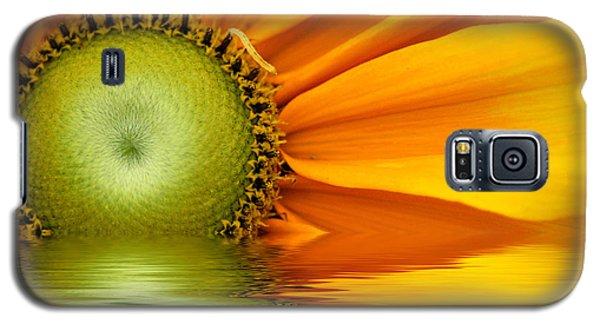 Yellow Sunflower Sunrise Galaxy S5 Case