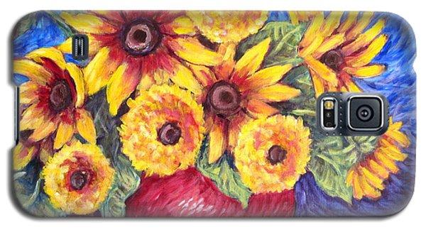 Yellow Sunflowers Galaxy S5 Case
