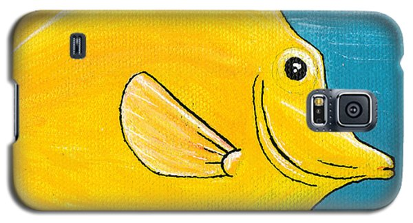 Yellow Tang Galaxy S5 Case