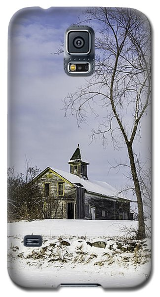 Yellow Trimmed Barn Galaxy S5 Case by Betty Denise