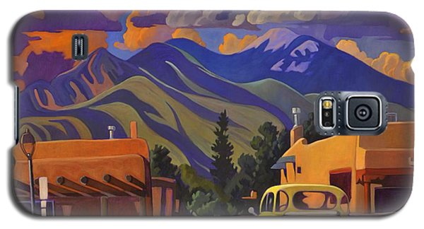 Yellow Truck Galaxy S5 Case by Art James West