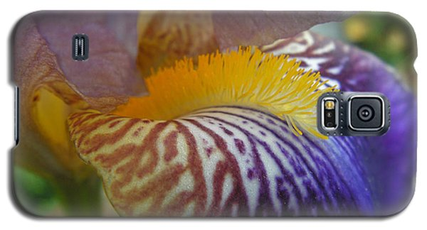 Galaxy S5 Case featuring the photograph Yellow Tuft by Cheryl Hoyle