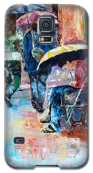 Yellow Umbrella Galaxy S5 Case