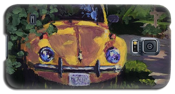 Yellow Vee Dub - Art By Bill Tomsa Galaxy S5 Case