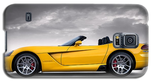 Yellow Viper Roadster Galaxy S5 Case
