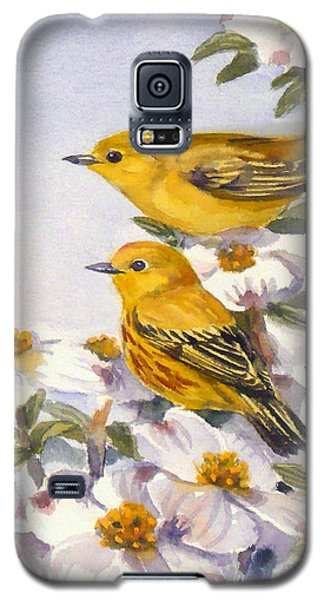Yellow Warblers Galaxy S5 Case