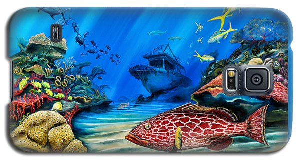 Yellowfin Grouper Wreck Galaxy S5 Case
