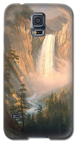 Yellowstone Galaxy S5 Case by Albert Bierstadt