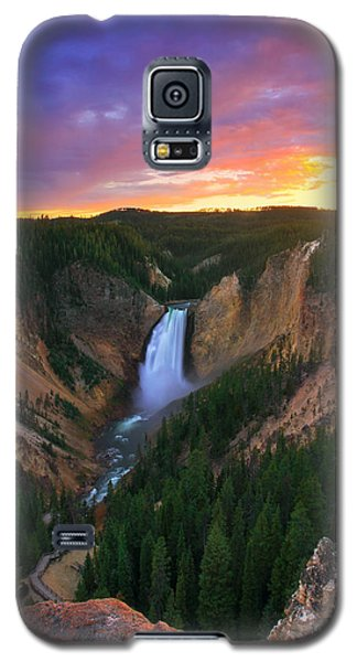 Galaxy S5 Case featuring the photograph Yellowstone Beauty by Kadek Susanto