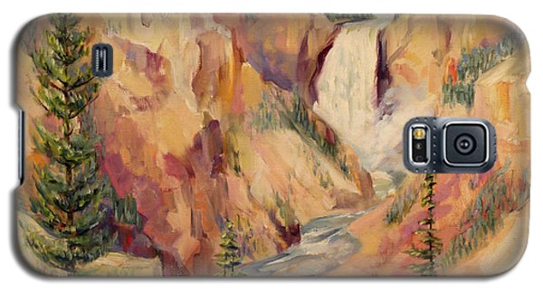 Yellowstone Canyon 1930 Galaxy S5 Case