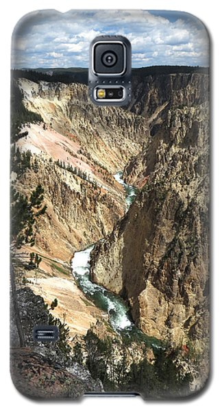 Galaxy S5 Case featuring the photograph Yellowstone Canyon by Laurel Powell