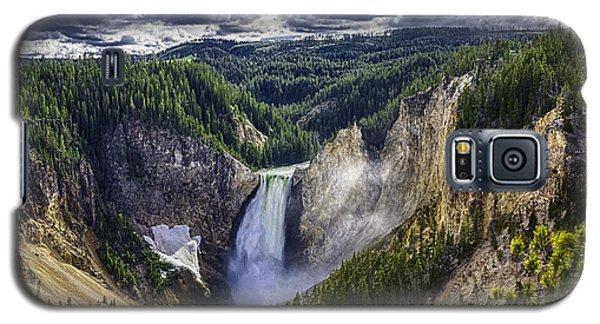 Yellowstone Canyon Lower Falls Galaxy S5 Case