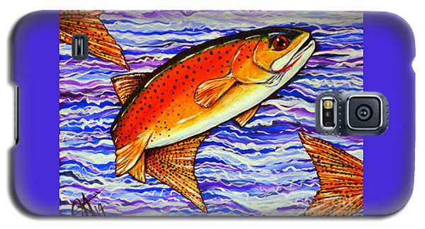 Yellowstone Cutthroat Galaxy S5 Case by Jackie Carpenter