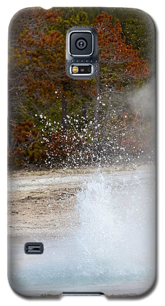 Yellowstone Geyser Galaxy S5 Case