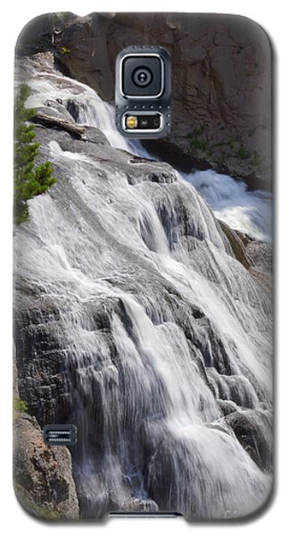 Yellowstone Gibbon Falls Galaxy S5 Case by Jennifer White