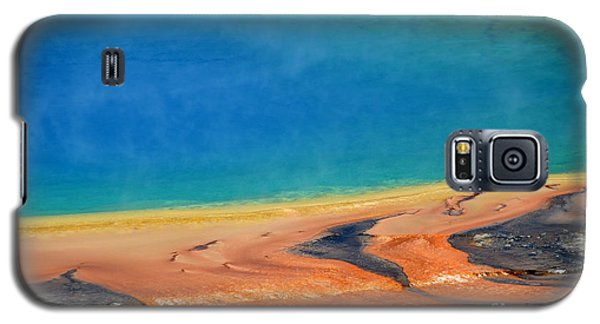 Yellowstone Grand Prismatic Colors Galaxy S5 Case